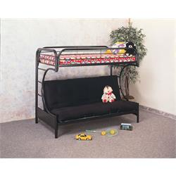 "AMERICAN IMPORTS ""TWIN/FULL FUTON BUNKBED 470-433 Image"
